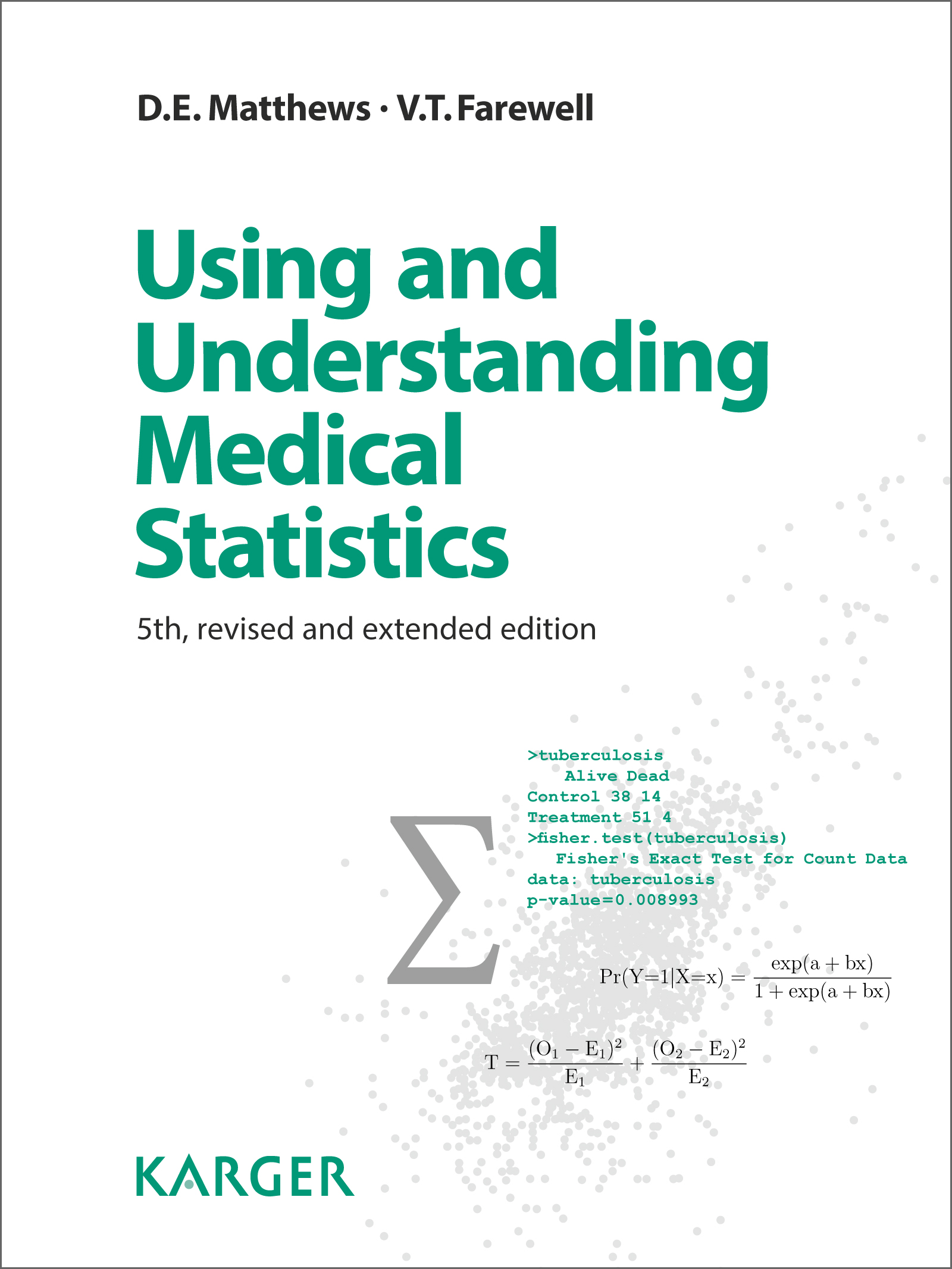 High-resolution cover image Using and Understanding Medical Statistics 05458-3