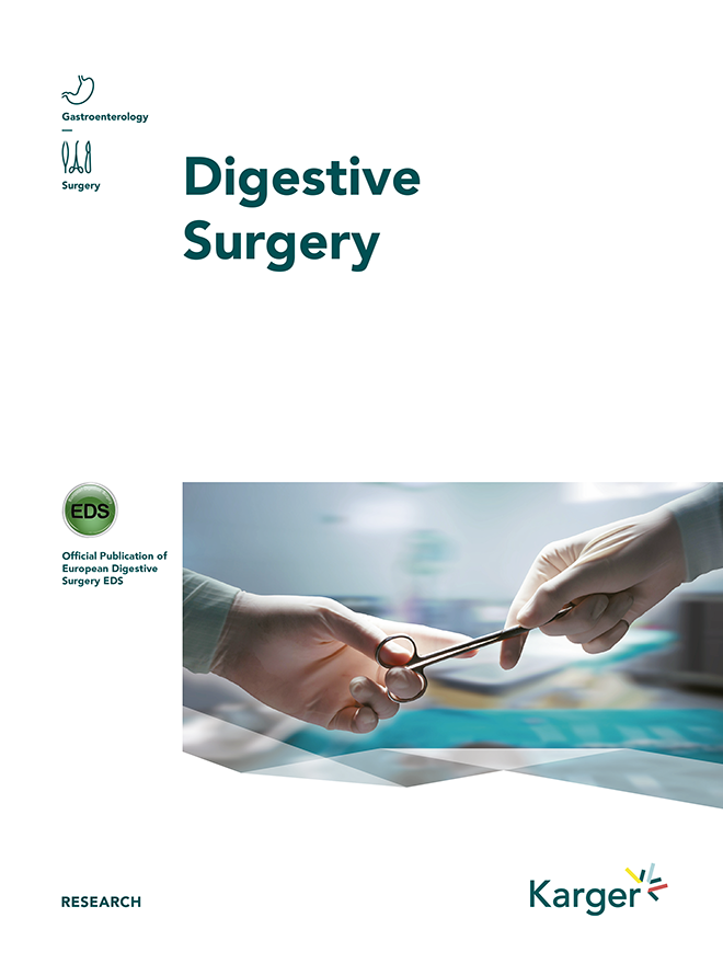 Digestive Surgery - Home - Karger Publishers