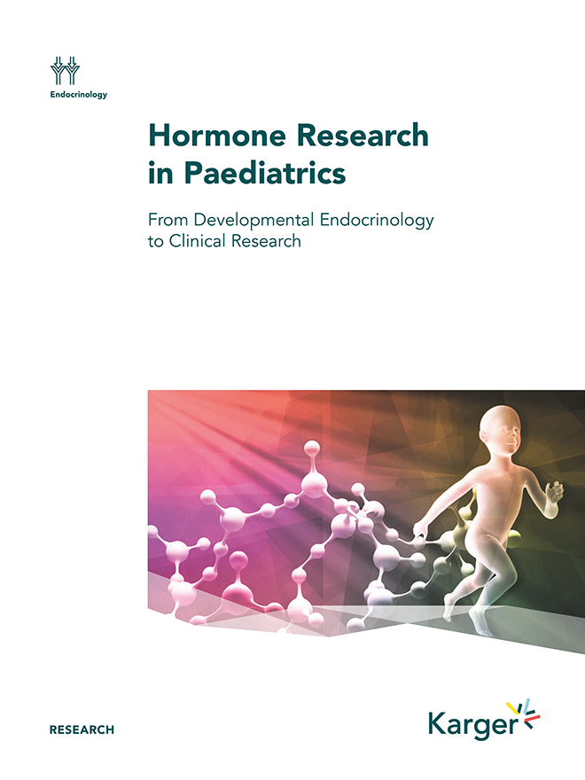 Hormone Research in Paediatrics - Home - Karger Publishers
