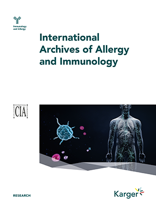 International Archives of Allergy and Immunology - Home - Karger ...