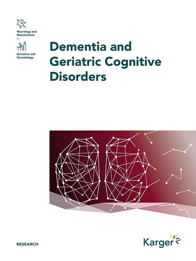 Dementia and geriatric cognitive disorders guidelines karger dementia and geriatric cognitive disorders guidelines karger publishers fandeluxe Choice Image