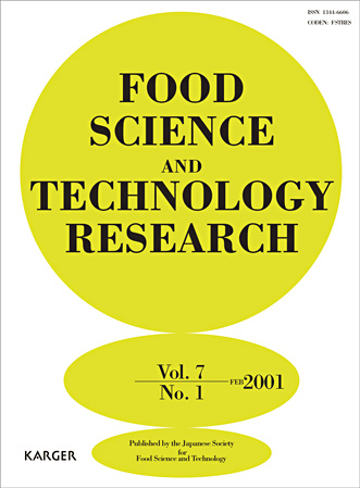 Food Science And Technology Research Home Karger Publishers
