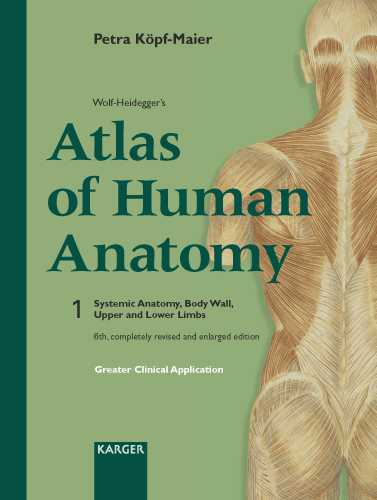 Wolf-Heidegger\'s Atlas of Human Anatomy - Karger Publishers