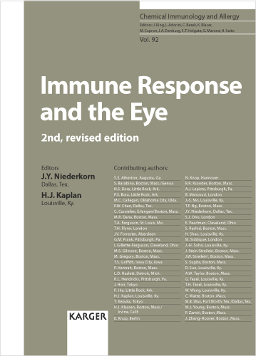 Immune Response And The Eye Karger Publishers