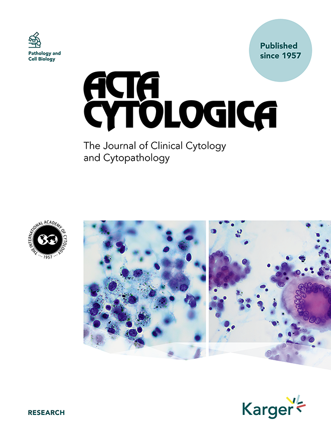 Acta Cytologica - Home - Karger Publishers