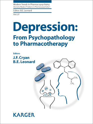 Depression From Psychopathology To Pharmacotherapy Karger Publishers