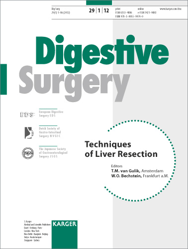 Techniques of Liver Resection - Karger Publishers