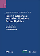 Protein in neonatal and infant nutrition recent updates karger 86th nestl nutrition institute workshop beijing may 2015 fandeluxe Image collections