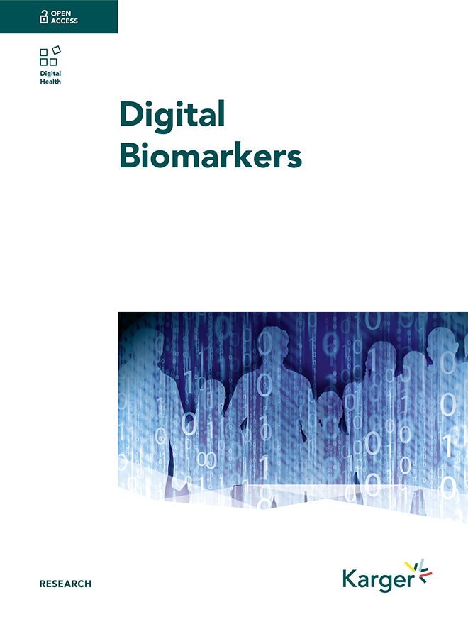 Digital Biomarkers - Home - Karger Publishers